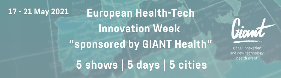 Banner for European Health tech Innovation Week